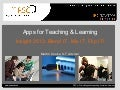 Apps for Teaching and Learning