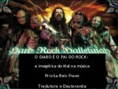 O Diabo é o Pai do Rock - a imagéti...