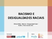"Power Point ""Racismo e Desigualdade..."