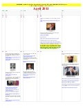 April 2011   Calendar of Events LEADING To LIES About KILLING OF OSAMA BIN LADEN (norwegian)