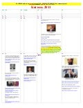April 2011   Calendar of Events LEADING To LIES About KILLING OF OSAMA BIN LADEN (ukrainian)