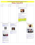 April 2011   Calendar of Events LEADING To LIES About KILLING OF OSAMA BIN LADEN (vietnamese)