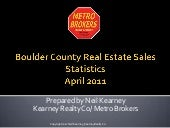 Boulder County Real Estate Statisti...