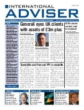 International Adviser April 2012