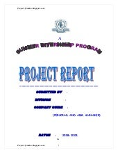 A project report on job satisfactio...