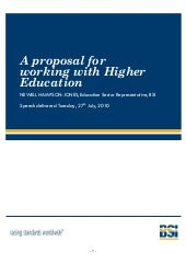 A proposal for working with higher ...