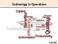 Operations - Technology