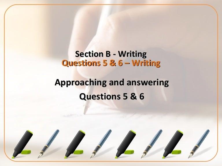How to write an aqa gcse English essay?