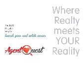 Agent Quest: The BEST Possible Way to Launch and Build YOUR Real Estate Career?