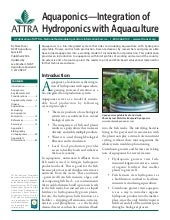Aquaponics — Integration of Hydropo...