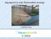 Aquaponics and Renewable Energy