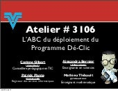 AQUOPS 2013 - Atelier # 3106 - ABC ...