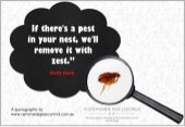 A Quotography on Pest Control