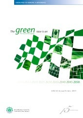 The Green Race is On - The New Busi...