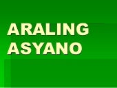 Araling asyano ii ( project in AP)