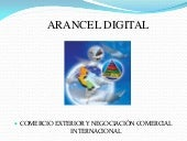 Arancel digital