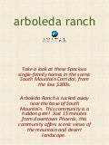 Arboleda Ranch