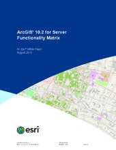ArcGIS 10.2 for Server Functionalit...
