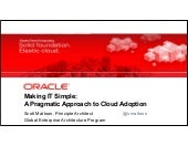 Cloud Computing - A Pragmatic Appro...