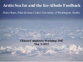 Arctic Sea Ice and the Ice-Albedo Feedback