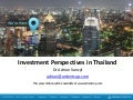 Investment Perspectives in Thailand by Dr Adrian Vanzyl (Ardent Capital)