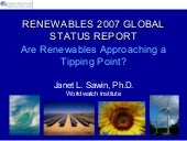 Are Renewables Approaching a Tippin...