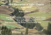 Area description of Kabe (Dagnu)  w...