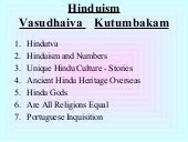 Are all religions equal hindutva