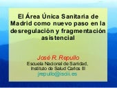 AREA SANITARIA UNICA MADRID