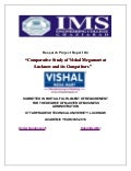 A research project report on comparative study of vishal megamart and its competitors