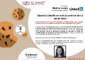 BtoB Summit 8 Juillet 2015 Interview Marine Lucas_Intervenante