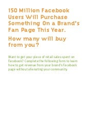 A Retailer's Guide to Facebook Comm...