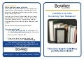 UK Bowker Data Submission Information