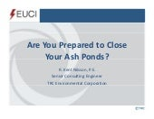 Are You Prepared to Close your Ash ...