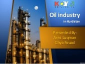 Oil industry in kurdistan