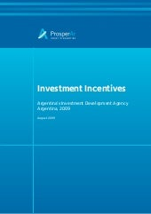 Argentina Investment Incentives
