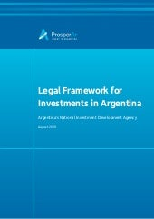Argentina Business Legal Framework ...