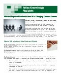 Ariba Knowledge Nuggets - New and Improved Contract How-to's Change in Your Contract Organization