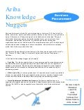 Ariba Knowledge Nuggets - Services Procurement Collaborative Requistioning