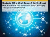 Strategic CIOs: What Comes After the Cloud