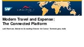 Modern Travel and Expense: The Connected Platform [Mumbai]