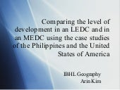Comparison of Development in the Ph...