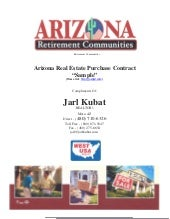 Arizona Residential Real Estate  Pu...