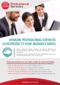 Arkadin Professional Services Offer Sheet