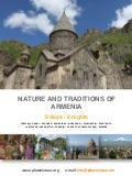 NATURE AND TRADITIONS OF  ARMENIA