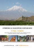 Armenia karabakh 9-day-tour