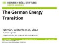 German Energy Transition Workshop-Arne Jungjohann from HBF