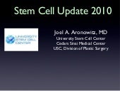 Aronowitz stem cell 11.25.2010