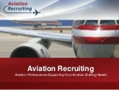 Aviation Recruiting Power Point