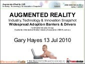 Augmented Reality Barriers & Driver...